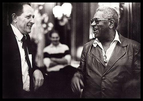 Joe Segal and Dizzy Gillespie