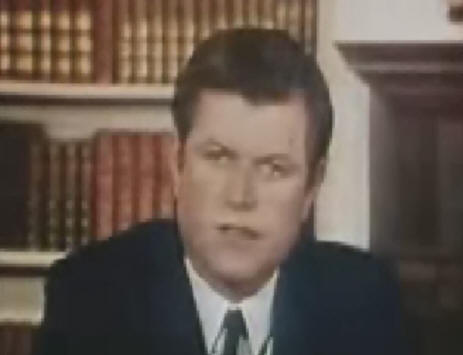 ted kennedy chappaquiddick speech