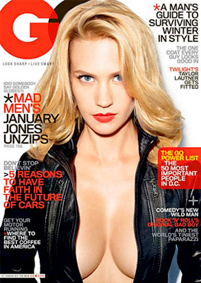 january jones gq. Besides January Jones.