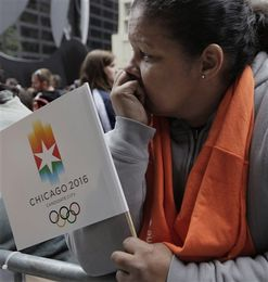 reaction to losing 2016 olympics
